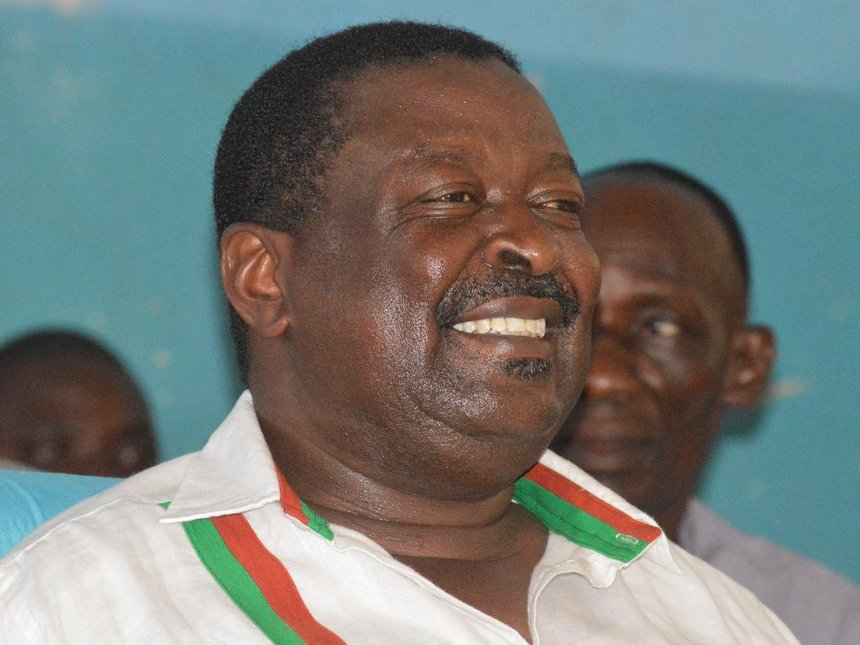 Mudavadi should be elected President in 2022, says Khwisero MP
