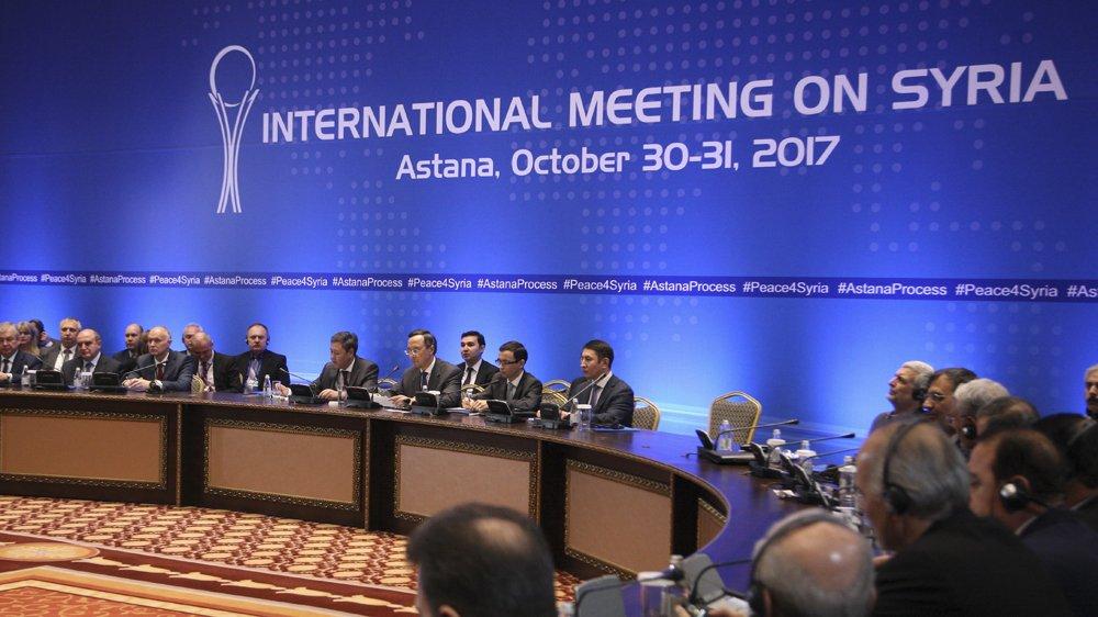 Syria's war: Russia dominates Astana talks
