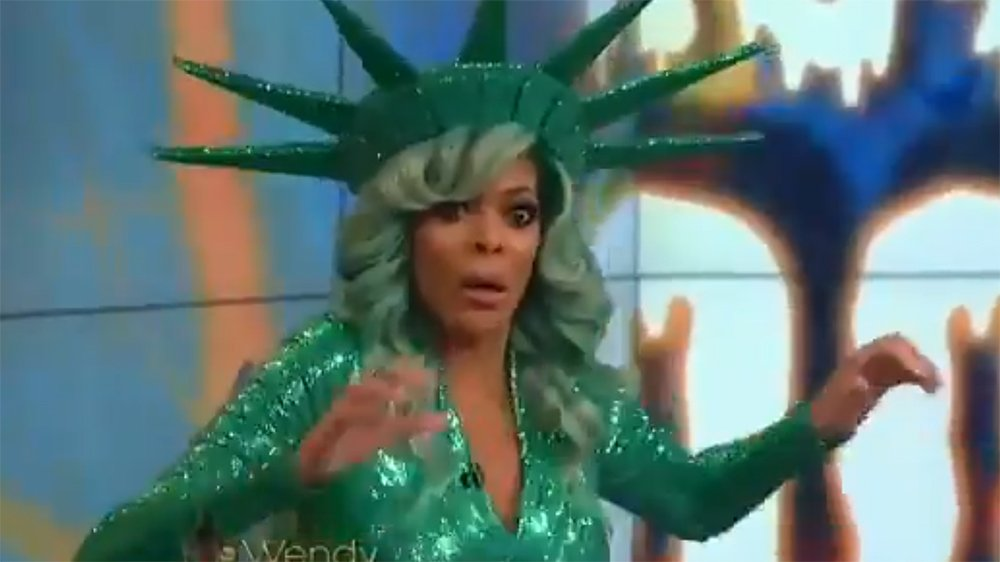 Wendy Williams passes out during her live Halloween show