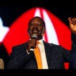 Raila Odinga BIG ANNOUNCEMENT after Uhuru WAS Declared Kenya's President Elect