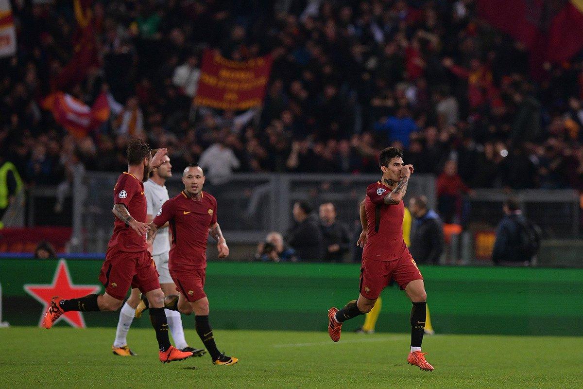 Roma vs Chelsea Champions League 2017/2018 Fiat Punto Technick Daje on