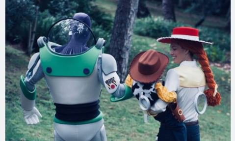 We love Justin Timberlake & Jessica Biel's family Halloween costumes to infinity & beyond!
