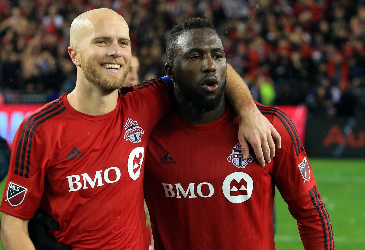 Treatment of Toronto FC's Altidore, Bradley crossed line at Red Bull Arena