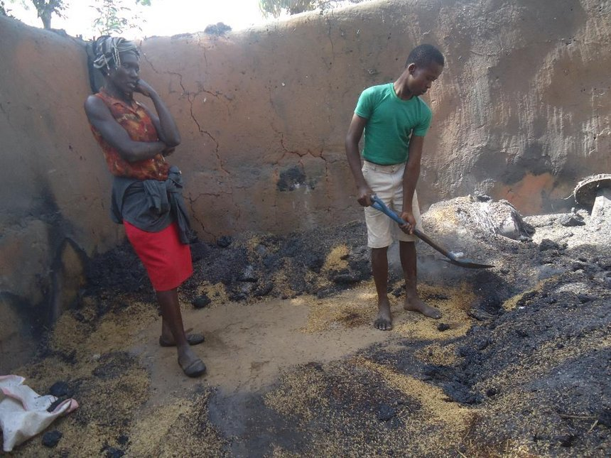 Budalang'i widow loses Sh120,000 worth of rice in house fire, suspects arson attack