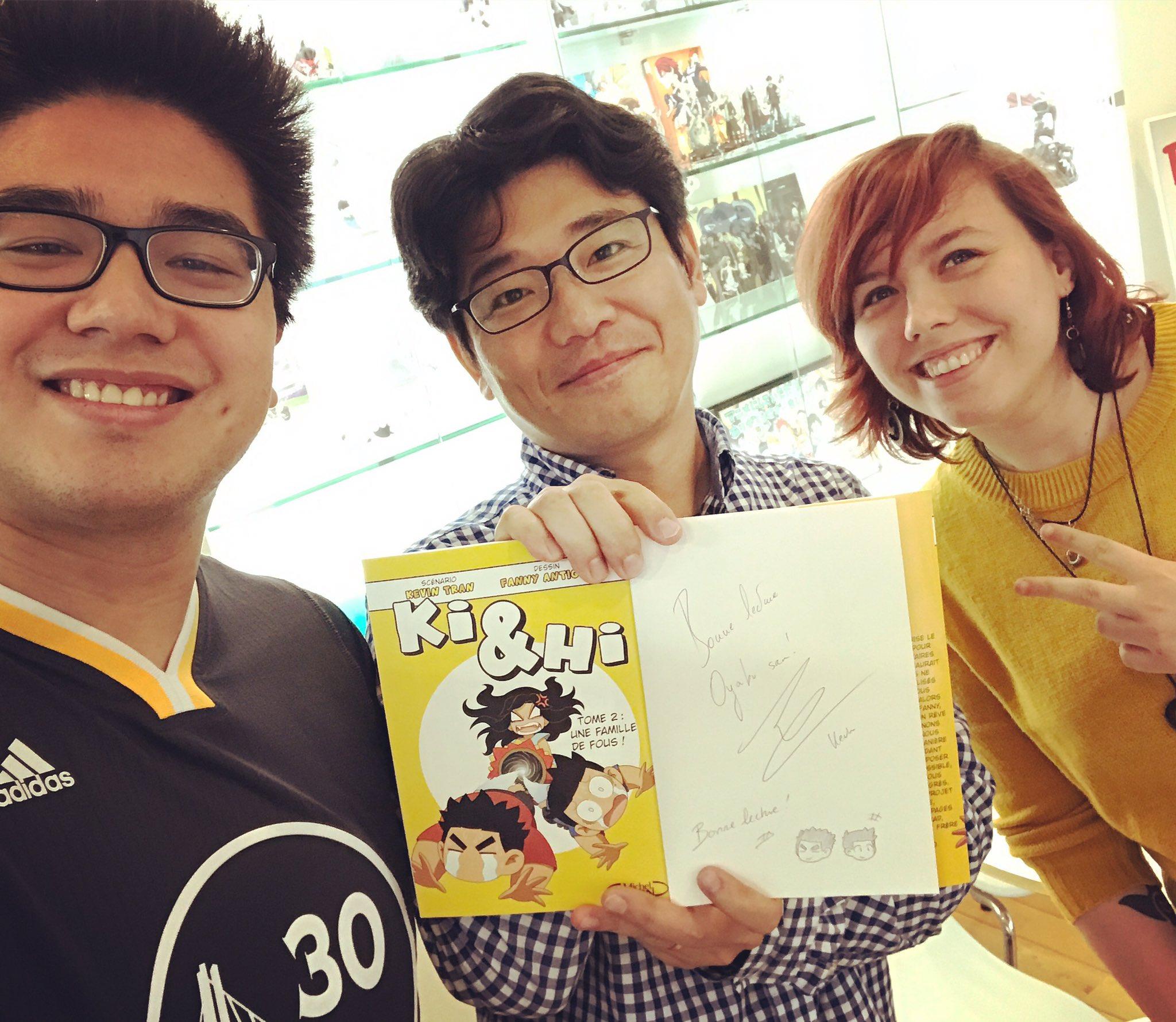 À Tokyo avec Oyabu san, le producteur de My Hero Academia �� https://t.co/T9Q91R5Rm0