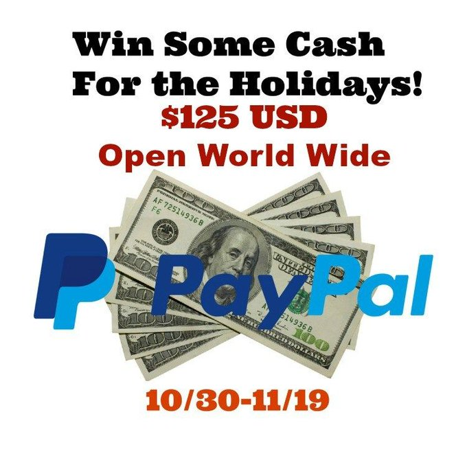 $125 Holiday Cash Giveaway