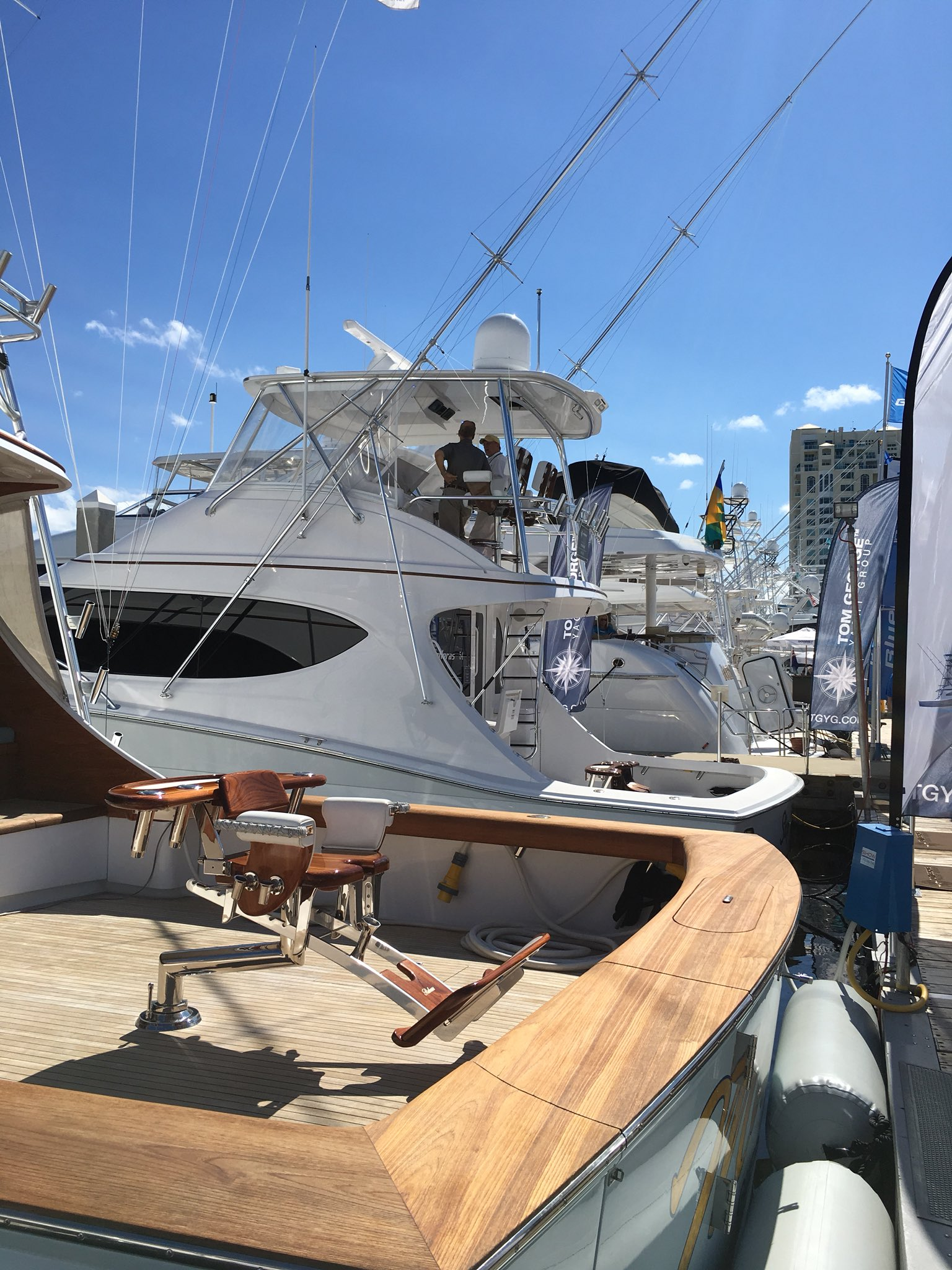 Are you ready for some yacht shots? We'll be bringing you updates from #FLIBS2017! Stay tuned. https://t.co/3zgGwQjWzq
