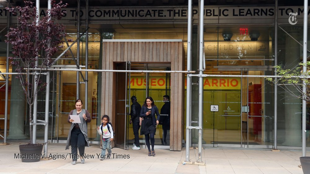 El Museo del Barrio to close for several months during renovations https://t.co/6alHGt904D https://t.co/hpuXoF1FKL