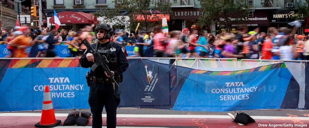 Police ramping up security for New York City Marathon after deadly truck attack.