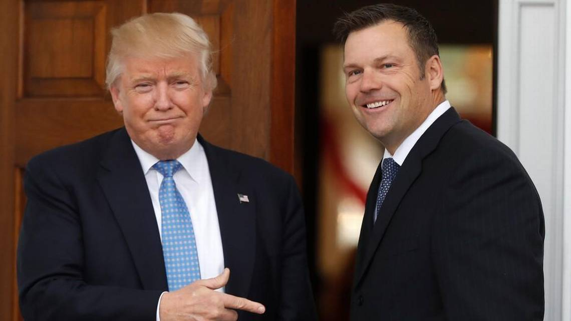 Why have Kris Kobach and the Trump voter commission faded from view? | The Kansas City Star