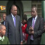 President Kenyatta visits Westlands Primary as KCPE enters day 2