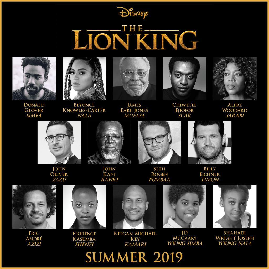 Бейонсе сыграет львицу вмультфильме «Король лев»