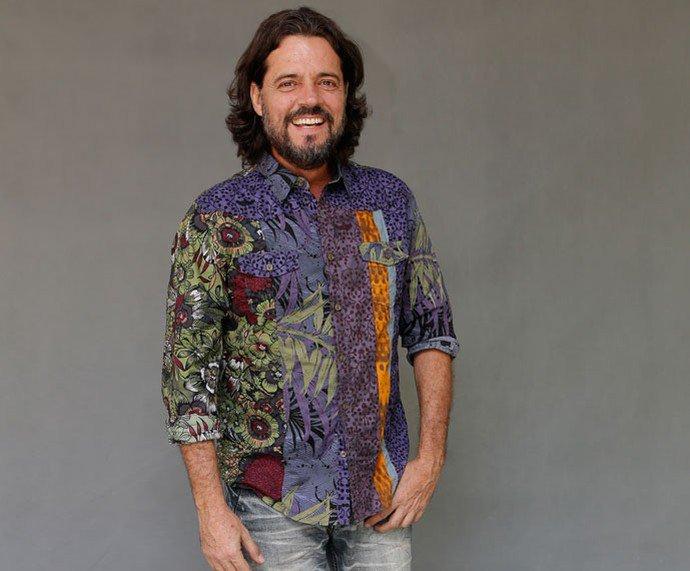"""Felipe Camargo. Foto do site da RD1 que mostra Felipe Camargo renova contrato com a Globo ator estará em """"Assédio"""""""