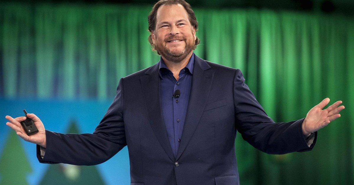 Salesforce CEO Marc Benioff reminds employees of workplace drinking ban: 'Alcohol is a drug'