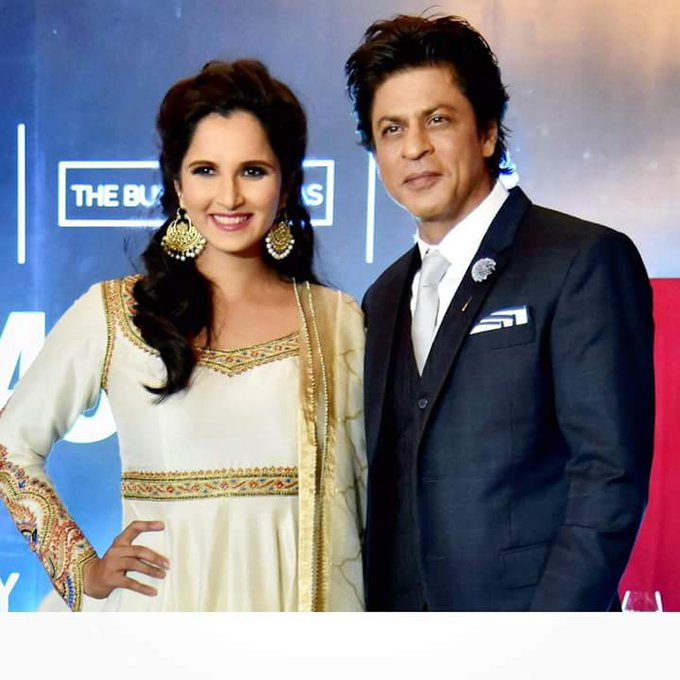 Happy happy birthday Shahrukh love ,luck and best always .Sania Mirza