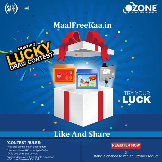 Try Your Luck In Monthly Lucky Draw Contest
