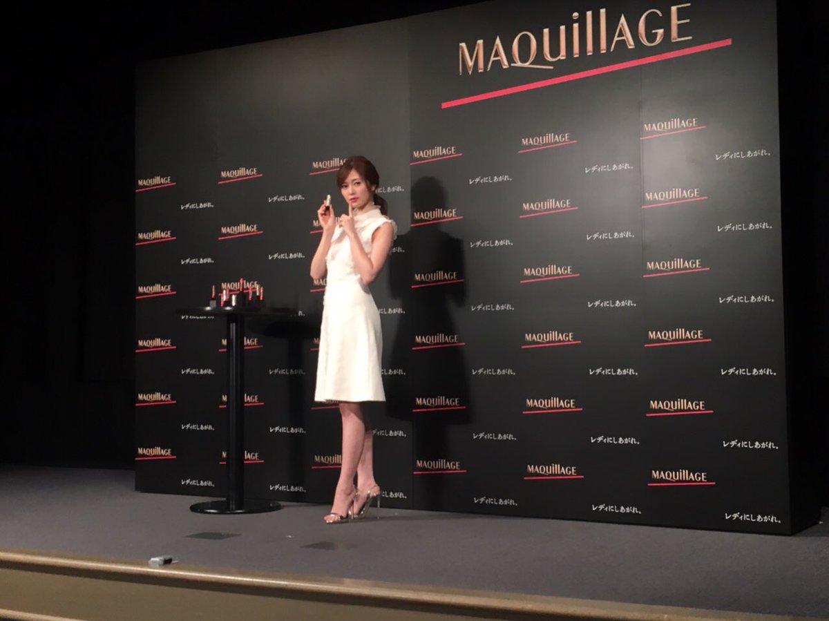 白石麻衣さん、資生堂マキアージュの新ミューズ就任おめでとうございます!🎉🎉🎉🎉  #マキアージュ #新ミュ...