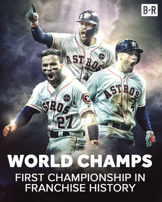 Congrats to the Houston Astros!!!! World Series Champs!!! https://t.co/vXhaWd8qVy