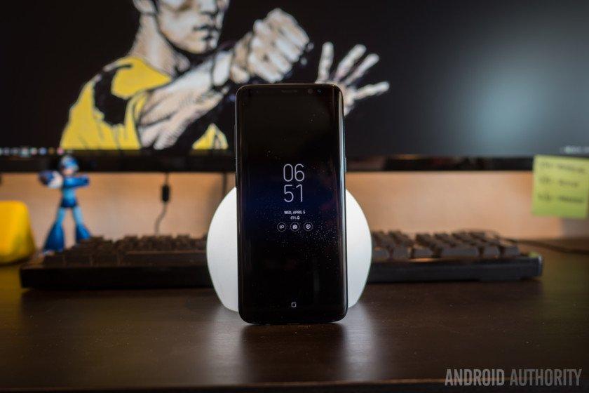 AndroidAuth samsung galaxy s8