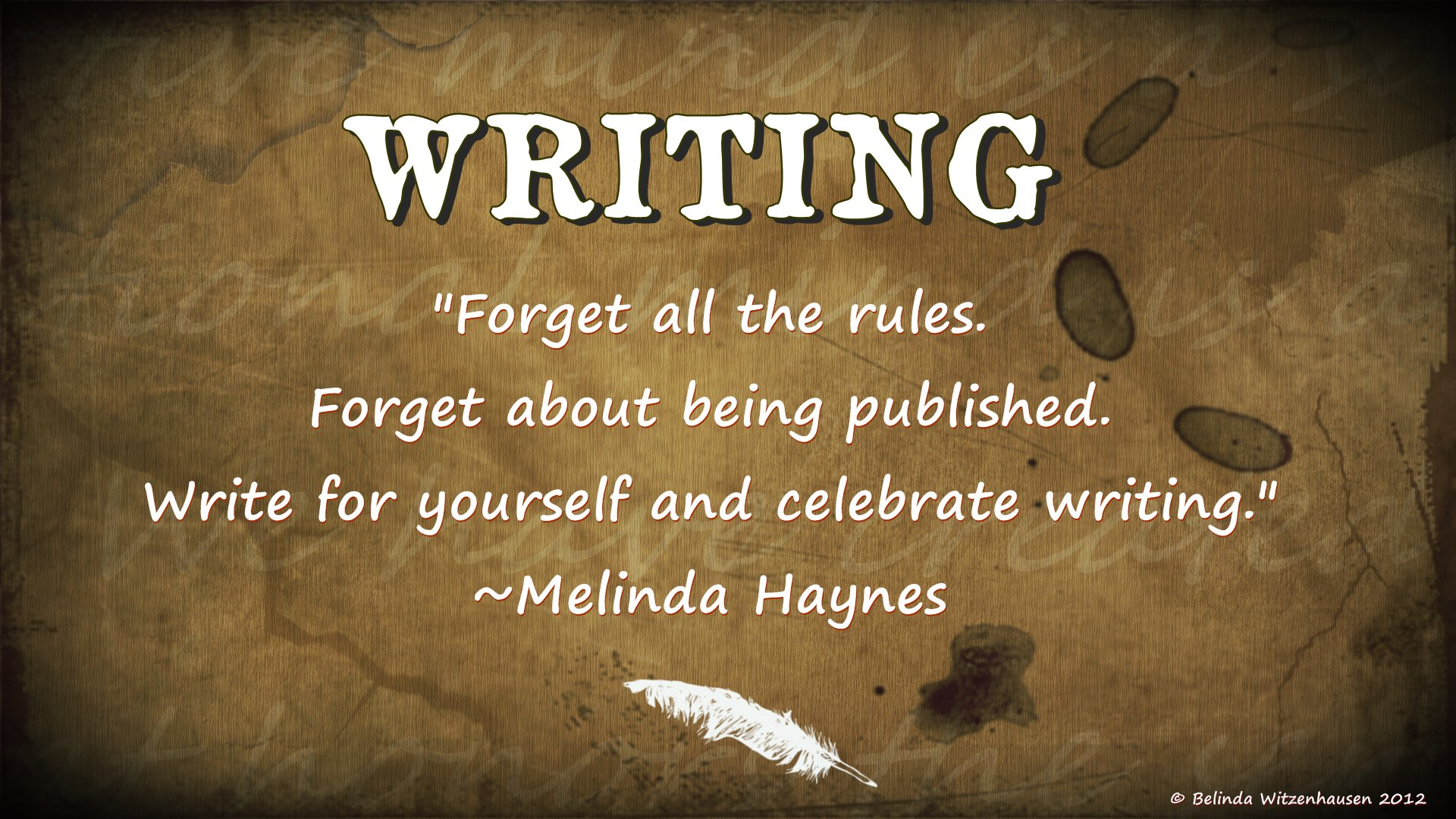 Yes! Write in the moment. Write without worry about all that other stuff. Write for yourself and celebrate you. #amwriting https://t.co/TwhAwQnXd5