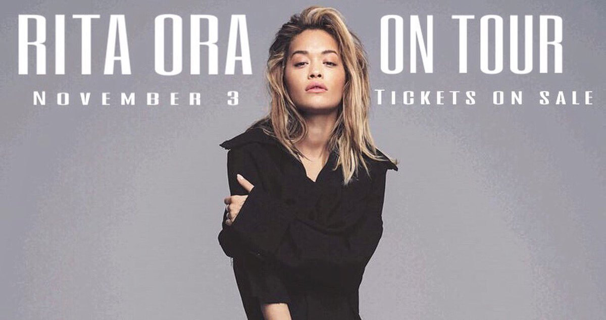 RT @miriam_ora: ????TOMORROW AT 10am???? get your tickets!! #RitaOraONTOUR #RO2  @RitaOra https://t.co/h7XqpTHDeH