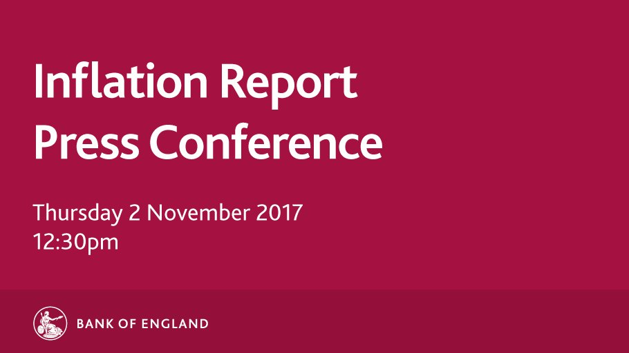 Watch the #InflationReport press conference at 12:30pm today: https://t.co/6rhBj3eMMG https://t.co/DSmonz4hnn