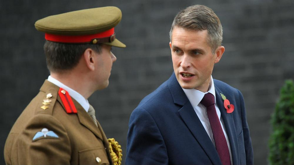 Tory chief whip Gavin Williamson appointed new UK defence secretary