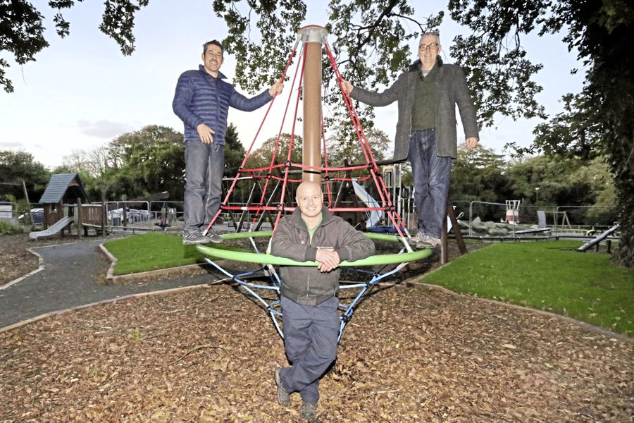 Wait nearly over for Saumarez Park playground's younger users
