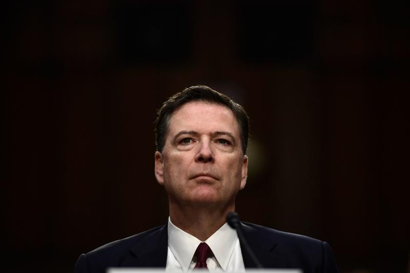 Comey's new book title a dig at Trump