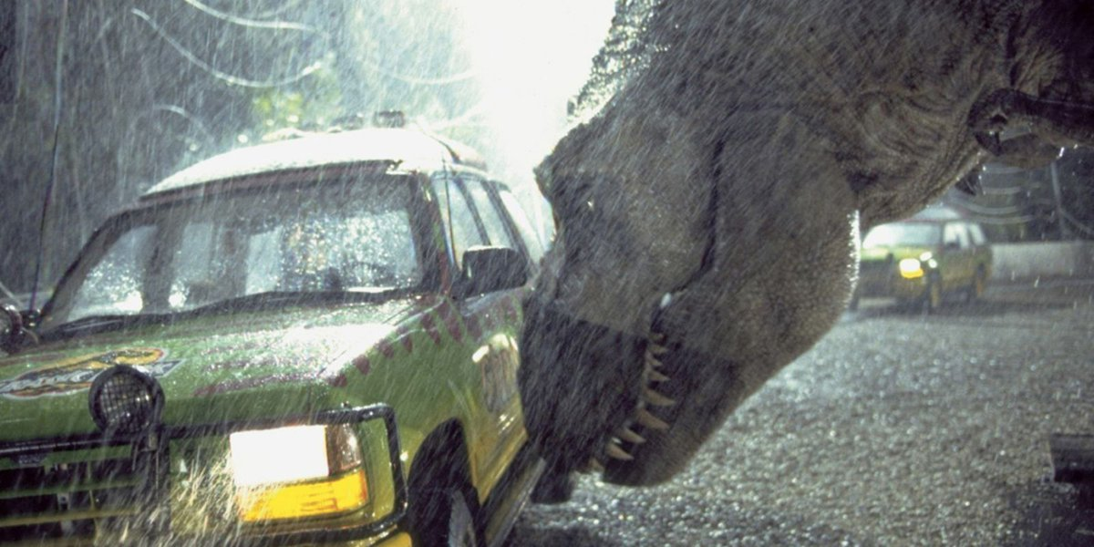 Watch Jurassic Park on the big screen while the symphony plays the soundtrack live