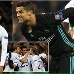 Spurs stun Madrid, join Man City in last 16
