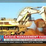 Acacia CEO and finance director resign amid Tanzania mining debacle