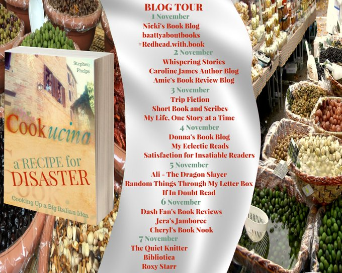 A RECIPE FOR DISASTER BLOG TOUR and AMAZING GIVEAWAY – You HAVE to check out this unique book – A great story that includes delicious recipes to indulge yourself.