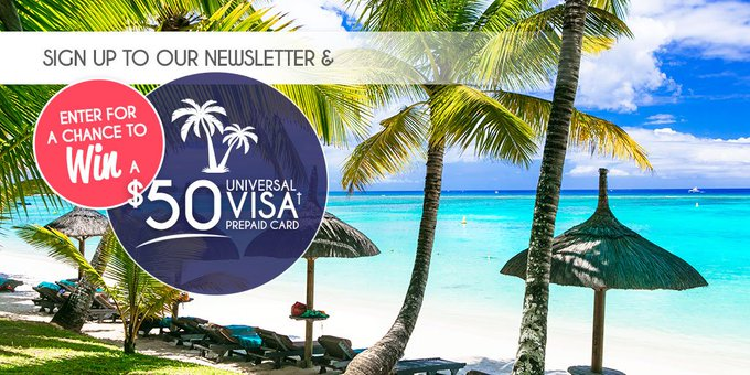 CONTEST: WIN a $50 Universal VISA† Prepaid Card