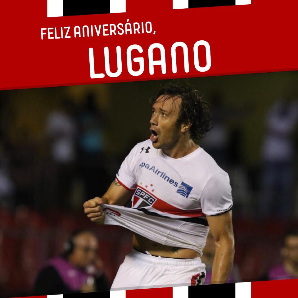 RT @SaoPauloFC: Feliz aniversário, @DiegoLuganoOk ????⚪️⚫️???????????????????????? https://t.co/Z4Vszpbxtd