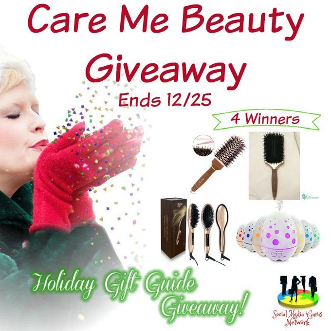 Care Me Beauty #Giveaway Ends 12/25 with 4 winners -