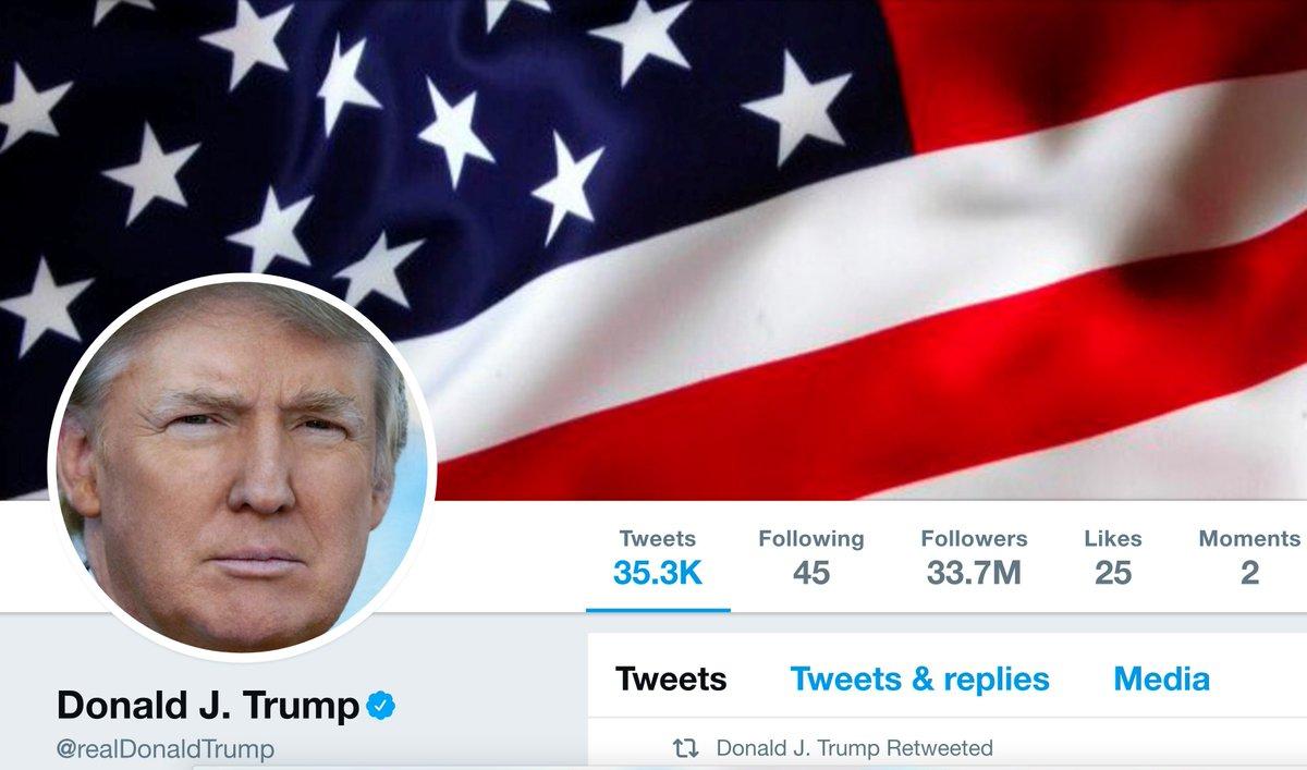 Donald Trump's Twitter feed suddenly went offline