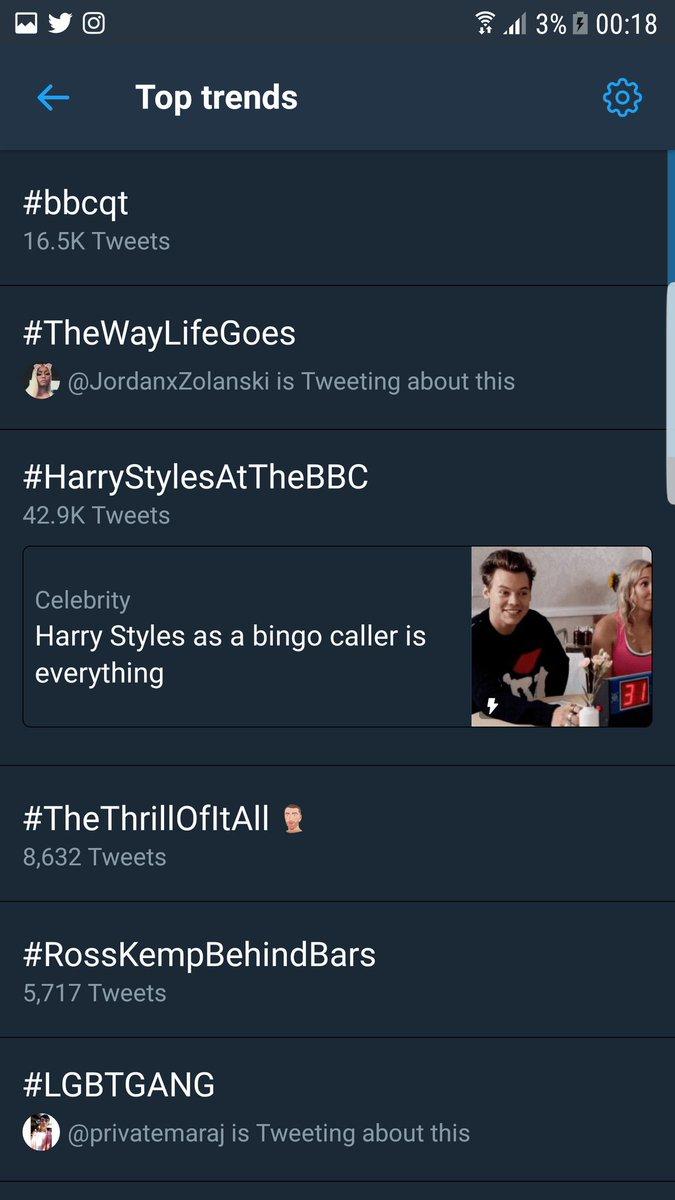 RT @ShebyCMinaj: @NICKIMINAJ #TheWayLifeGoes trending in U.K too????❤???? https://t.co/229KF49w2p