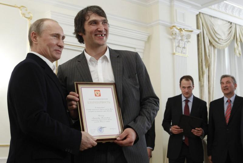 NHL great Ovechkin forms 'Putin Team' movement to back Kremlin leader