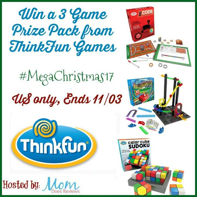 ThinkFun 3 Game Prize Pack-1-US-Ends 11/3