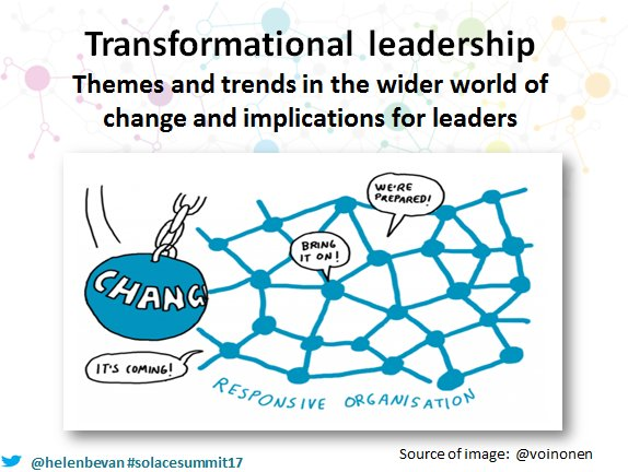 transformational leadership policy and change