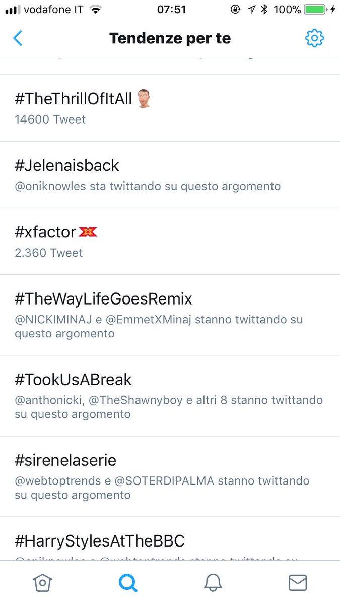 RT @MarcoTorelli96: #TheWayLifeGoesRemix is trending in Italy ???? @NICKIMINAJ ???? https://t.co/npHPakMMeV