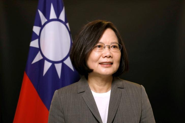 Taiwan president visits U.S. territory of Guam despite Chinese ire