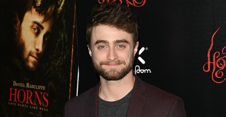 Daniel Radcliffe. Foto do site da Caras Brasil que mostra Daniel Radcliffe sofre de dispraxia entenda o que é o transtorno
