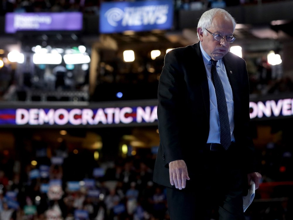 Bernie Sanders was right to be concerned. Hillary Clinton was in cahoots with DNC, book says