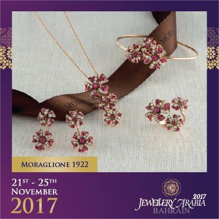 "test Twitter Media - Margherita in Italian means ""daisy"" 💍 #morgalione1922 #jewelleryarabia2017 #elegant #beautiful #classy https://t.co/MBRCoalect"