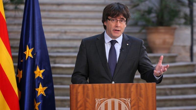 Spain issues arrest warrant for dismissed Catalan leader Carles Puigdemont