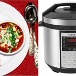 Easy Chili Black Bean Enchilada Soup Video Recipe | Bhavna's Kitchen