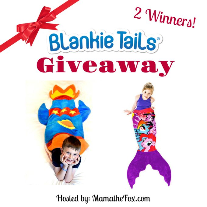 Blankie Tails Giveaway 2 Winners Ends 11/14 -