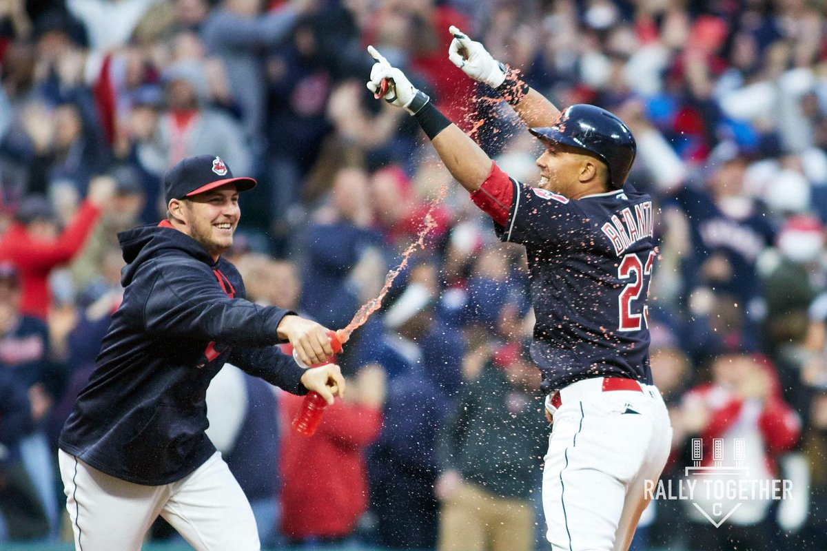 We've exercised our 2018 club  michael brantley